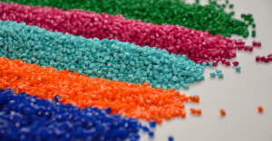 Beads of polypropylene